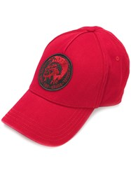 Diesel Only The Brave Cap Cotton Red