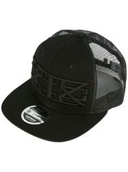 Ktz Embroidered Logo Cap Men Cotton Polyester One Size Black