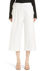 Tibi Women's Esteban Crop Twill Pants