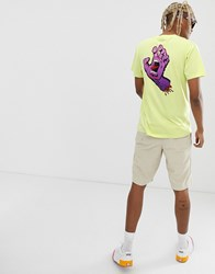 Santa Cruz Fade Hand T Shirt In Green