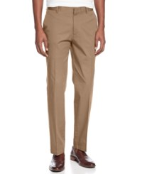 Inc International Concepts Men's Stretch Slim Fit Pants Created For Macy's Travertine Tile