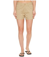 United By Blue Roan Shorts Tan Women's Shorts