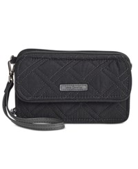 Vera Bradley Rfid All In One Crossbody Classic Black