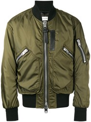 Coach Classic Bomber Jacket Green