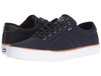 Lakai Flaco Midnight Canvas Men's Skate Shoes Navy