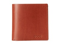 Ecco Denio Wallet Rust Bill Fold Wallet Red