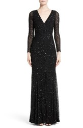 Rachel Gilbert Women's Sequin Gown