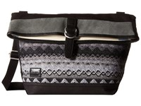 Toms Caldera Sweater Felt Messenger Black Multi Messenger Bags