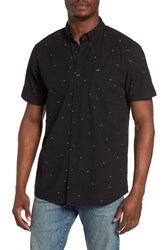 Rip Curl Men's Scattered Jacquard Woven Shirt Black