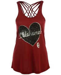 Colosseum Women's Oklahoma Sooners Big League Tank Cardinal Red