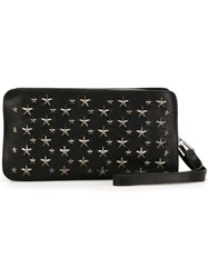 Jimmy Choo 'Connor' Wash Bag Black