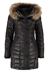 Khujo Albia Winter Coat Black