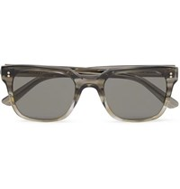 Moscot Zayde Square Frame Acetate Sunglasses Gray