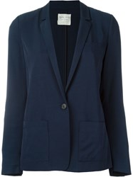 Forte Forte Single Button Blazer Blue