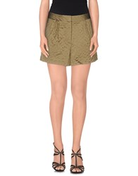 Elizabeth And James Trousers Shorts Women Military Green