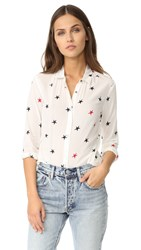 Scotch And Soda Maison Scotch Star Button Down White Red Blue