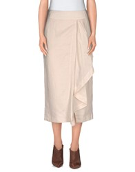 Henry Cotton's Skirts 3 4 Length Skirts Women Sand