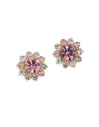 Carolee Garden Party Cluster Stud Earrings Gold