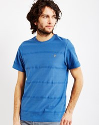 Farah Duchy Short Sleeve T Shirt Blue