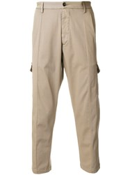 Low Brand Cropped Chinos Nude And Neutrals