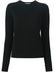 Jil Sander Crew Neck Sweater Black