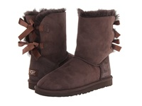 Ugg Bailey Bow Chocolate Twinface Women's Boots Brown