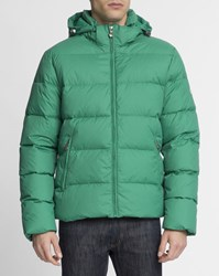 Pyrenex Green Matte Spoutnic Removable Hood Down Jacket