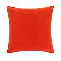 Zoeppritz Since 1828 Soft Fleece Cushion 50X50cm Papaya