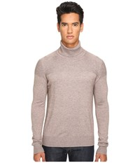 Jack Spade English Rolled Neck Sweater Mink Men's Sweater Brown