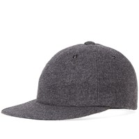 Kaptain Sunshine Flannel Ball Cap Grey