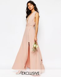Fame And Partners Ainsley Multiway Dress Pink