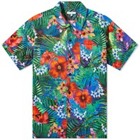 Engineered Garments Jungle Floral Camp Shirt Multi