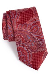 Men's John W. Nordstrom 'Imagine' Paisley Silk Tie X Long