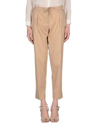 Moncler Trousers Casual Trousers Women Camel