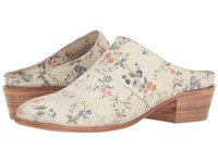 Lucchese Fay Floral Print Cowboy Boots Multi