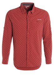 Craghoppers Todd Shirt Carmine Red Dark Red