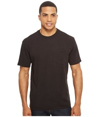 Filson Short Sleeve Outfitter Solid One Pocket T Shirt Faded Black Men's T Shirt Gray