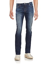 J. Lindeberg Five Pocket Jeans Dark Blue