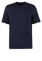 Joseph Workwear Basic Tshirt Navy Dark Blue