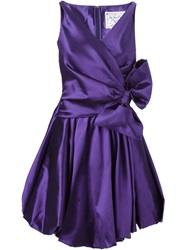 Dsquared2 Bow Detail Dress Pink And Purple