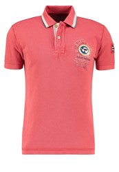 Napapijri Gandy Polo Shirt Crabapple Coral