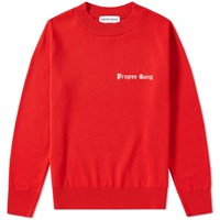 Proper Gang Embroidered Crew Sweat