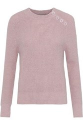 Antik Batik Shade Brushed Alpaca Blend Sweater Baby Pink
