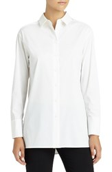 Lafayette 148 New York Women's Dannell Stretch Cotton Blouse