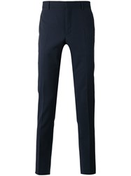Paul Smith Ps By Smart Tailored Trousers Men Acetate Viscose Mohair Wool 34 Black