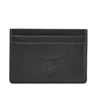 Human Made Leather Card Holder Black