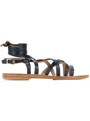 Scanlan Theodore Gladiator Sandals Black