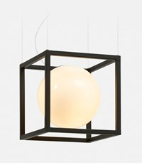 Rich Brilliant Willing Witt 1 Pendant Black