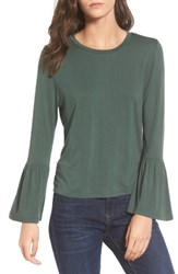 Women's Bp. Bell Sleeve Tee Green Jungle