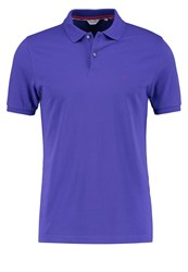 Calvin Klein Pete Fitted Polo Shirt Purple